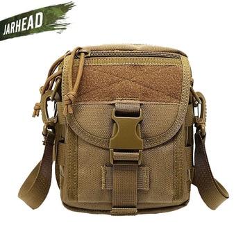 Military Tactical Shoulder Crossbody Bag Outdoor Sports Riding Tactics Oxford Cloth Portable