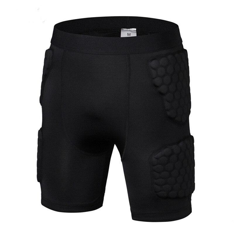 Men s basketball Protective Shorts anti crash sport Pads Protector leg sport Shorts Legwarmers Sports Safety