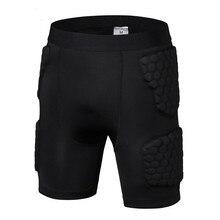 Men's basketball Protective Shorts anti crash sport Pads Protector leg sport Shorts Legwarmers Sports Safety