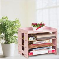 Wooden Makeup Office Organizer Cosmetic Drawer Storage Box Container Nail Casket Holder Desktop for Sundry Storage Case Tools