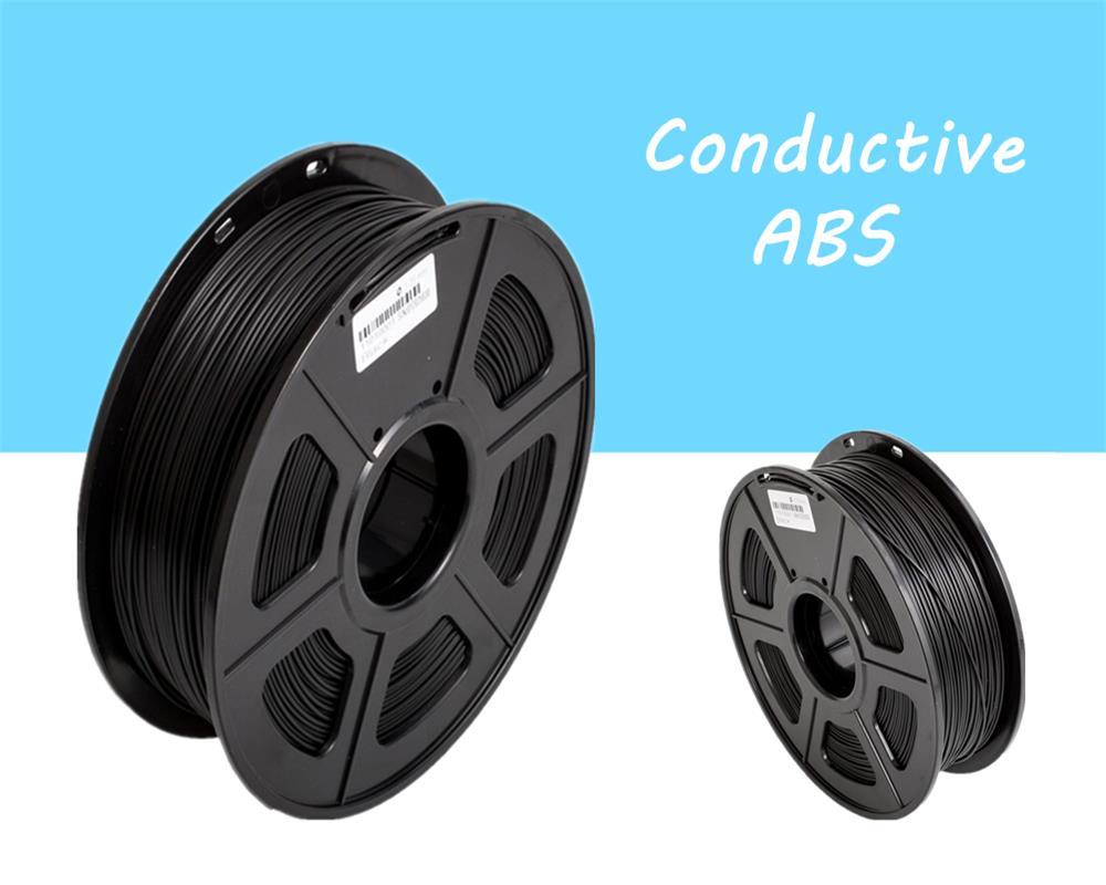 1 kg 100g 500g 3D impresora conductora ABS filamento conductor PLA filamento 1,75mm RepRap/Makerbot/Ultimaker ventas 3D bolígrafo