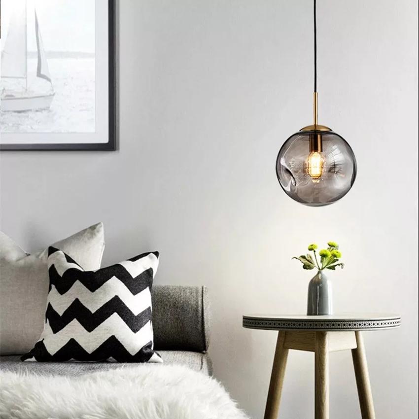 Nordic Loft Gl Ball Pendant Lights