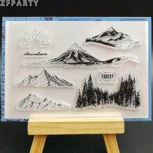 ZFPARTY прозрачный силиконовый штамп/печать для скрапбукинга/декоративная открытка для альбома