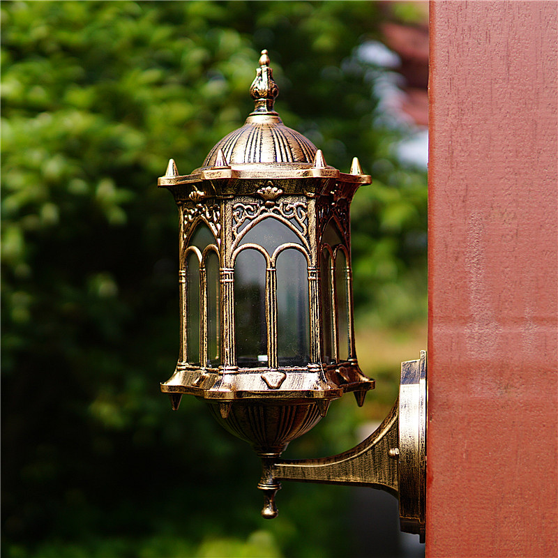 цена на Balcony Wall Lamps outdoor waterproof exterior Continental background wall decoration outdoor corridor lamp LU62798 ZL385