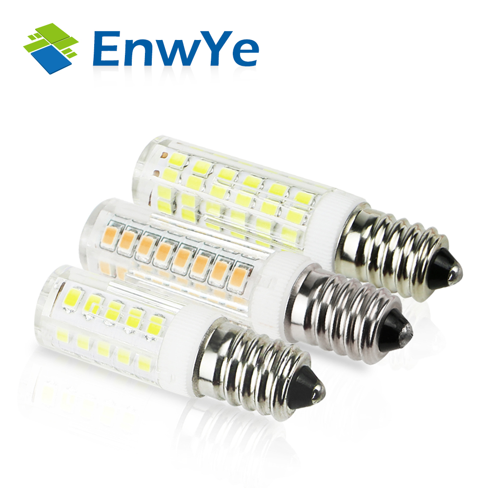 EnwYe LED E14 Lamp Bulb 360 Degrees 220V 5W 9W 12W COB SMD LED Lighting Lights Replace Halogen Spotlight Chandelier