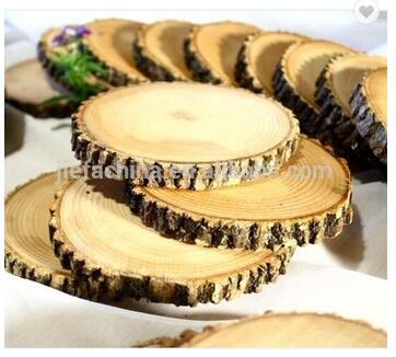 12 Big Unfinished Craft Wood Slices Tree Cookies