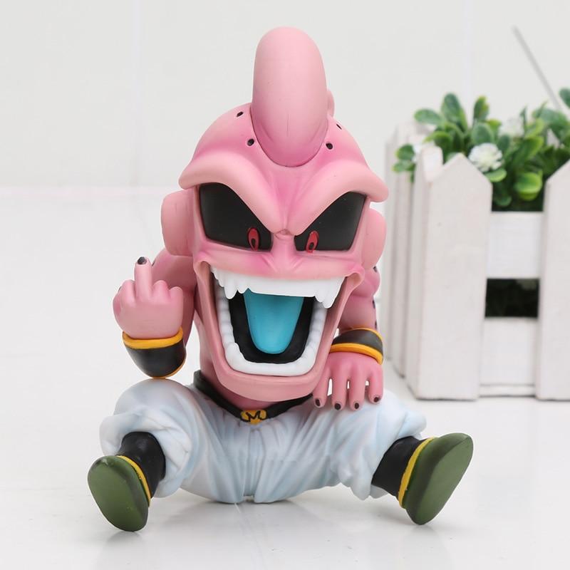 Anime 13cm Dragon Ball Z Fighter Majin Boo Kid Buu Pvc Figure Collectible Model Toys Gift Toys & Hobbies