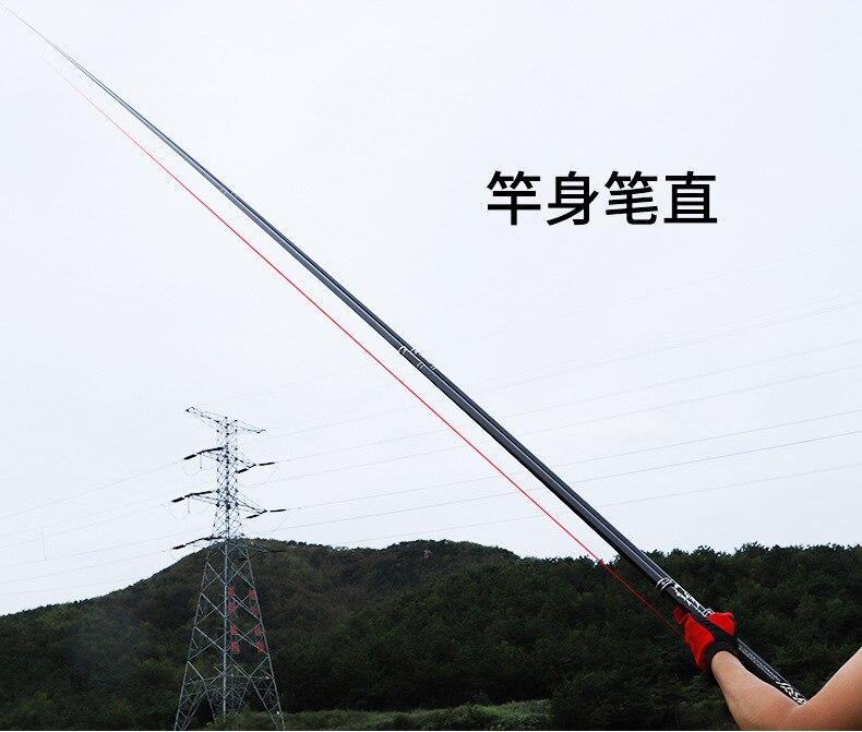 vara de pesca telescópica alta qualidade fibra carbono nível superior
