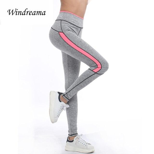 New Fashion Women Leggings for Exercise Winter Autumn Soft Legging Pant High Waist leggins Pink Orange Yellow