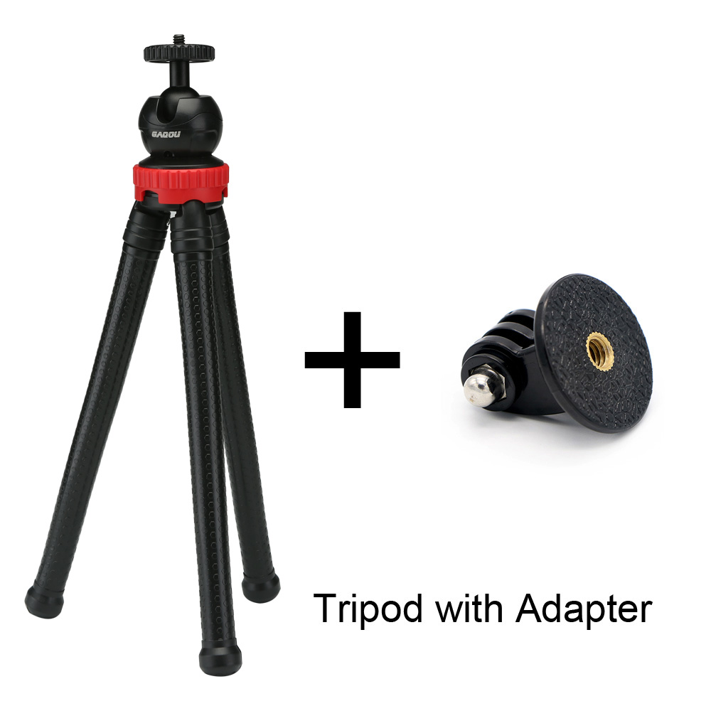 With gopro adapter