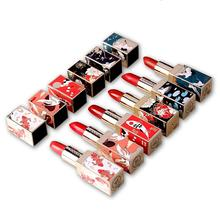 ZHENDUO 6 colors Fashion Makeup Chinese Style matte lipstick Waterproof Lasting Moisturizing Lip Balm red lip stick