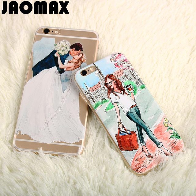 1fc0a174628 Jaomax Wedding Summer Travel Sexy Girl Case For iPhone 6 6S 4.7 Inch  Transparent Soft Silicone TPU Protective Phone Cover Shell