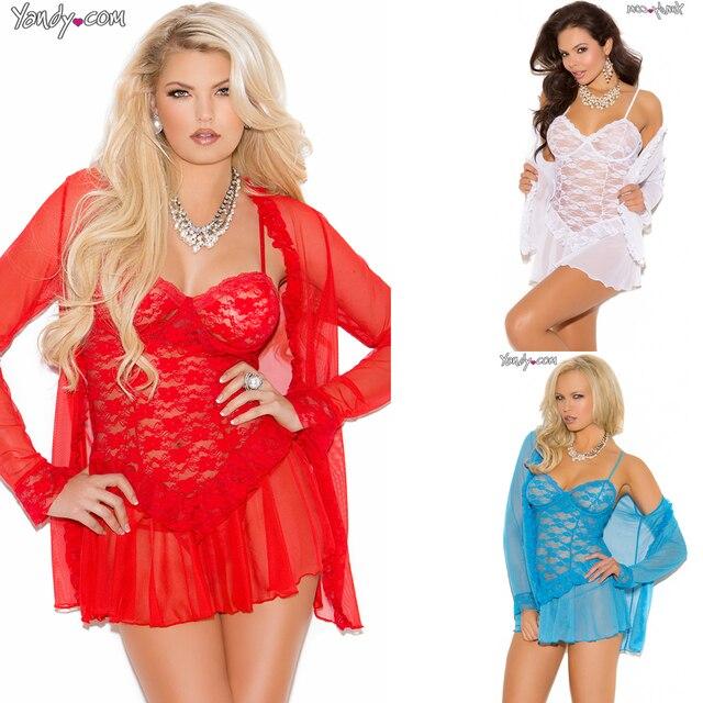 Плюс M-2XL женское белье сексуальные кружева в женскую одежду ночное бретели пижамы 2514