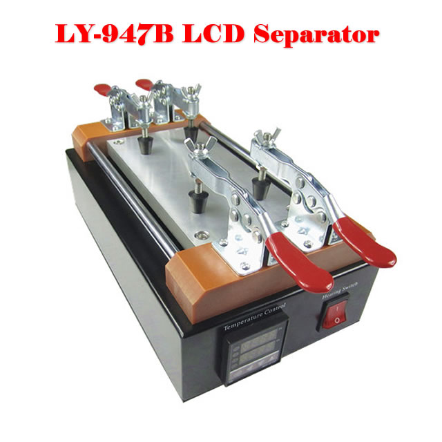 No tax, LY 947B Hot LCD Separator for Touch Screen Repair Tool Kit best price mgehr1212 2 slot cutter external grooving tool holder turning tool no insert hot sale brand new