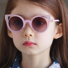 Kids Cat Eye Sunglasses Fashion Brand Designer Sun Glasses B