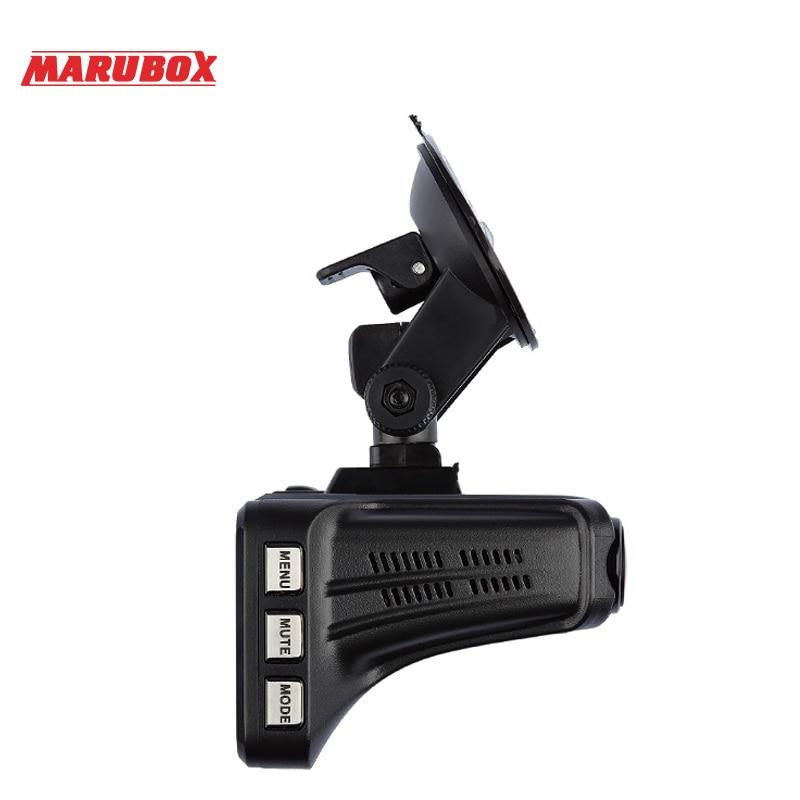 ZENISS Лидер продаж Marubox Автомобильная камера DVR Радар детектор GPS регистратор 3в1 HD1296P 170 градусов Автомобильный видеорегистратор для России M610R - 4