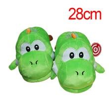 663c32d997c81 Super Mario frère Dragon Yoshi doux jouets hiver hommes femmes coton  intérieur chaud pantoufles maison en