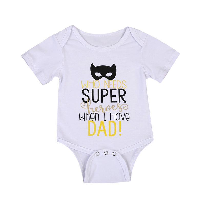 0-24 Mt Neugeborenes Baby Mädchen Strampler 2017 Sommer Kurzarm Super Hero Baumwolle Kleidung Overall Outfits