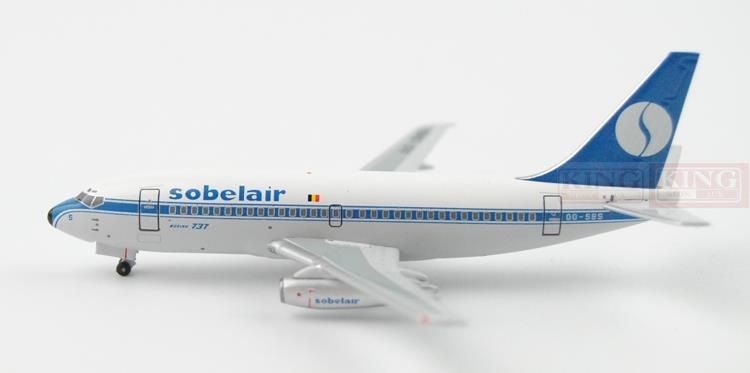 Special offer: SOBEL AIR B737-200 OO-SBS 1:400 Aeroclassics commercial jetliners plane model hobby