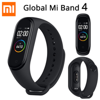 Newest Xiaomi Mi Band 4 Smart Miband 4 Bracelet Heart Rate Fitness 135mAh Color Screen Bluetooth 5.0