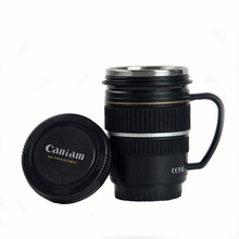 220mL Lens Emulation Camera Coffee Mug Creative Gift Beer Cups with Handle Thermal Mugs