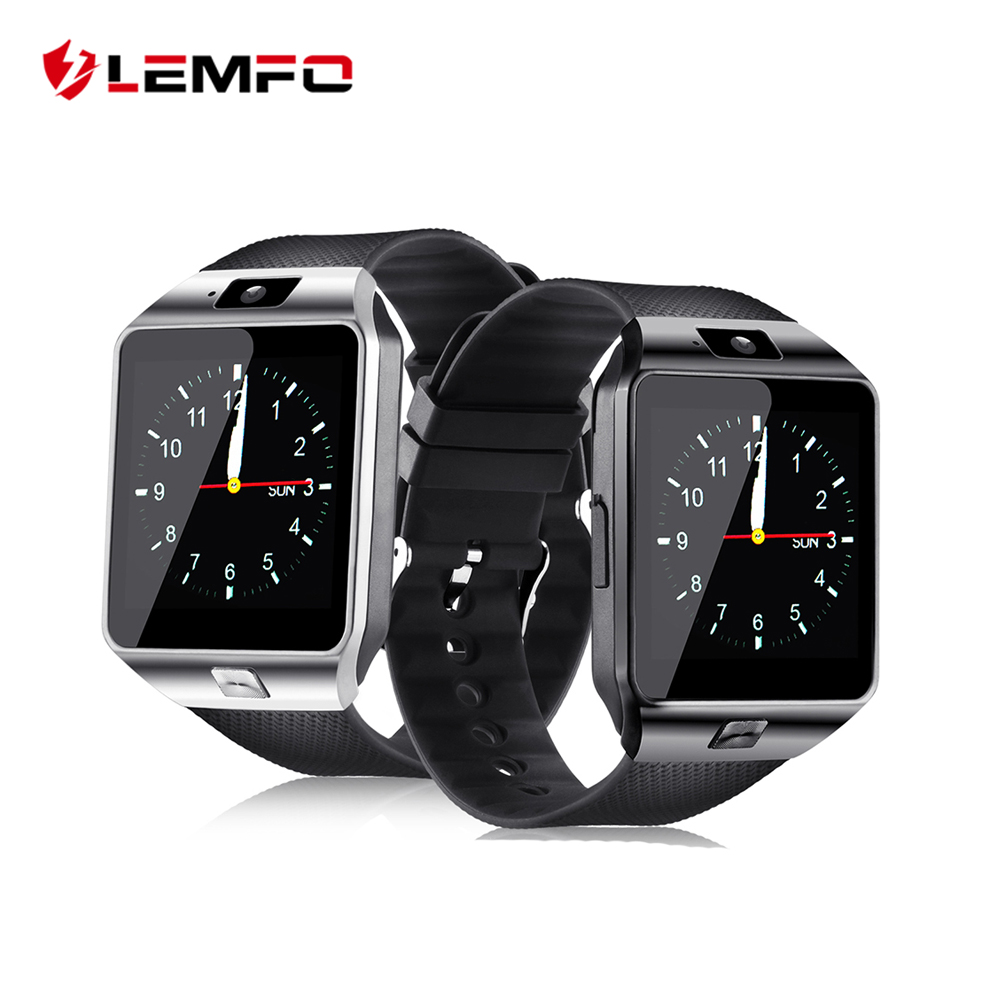 LEMFO dz09 watch smart for Android iOS phone support Bluetooth Camera SIM TF card dz09 battery Wearable Devices