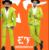 Novo Bar Boate DJ Cantor hairstylist anfitrião fase terno do casamento amarelo fluorescente verde brilhante ternos vestido terno do Casamento Dos Homens