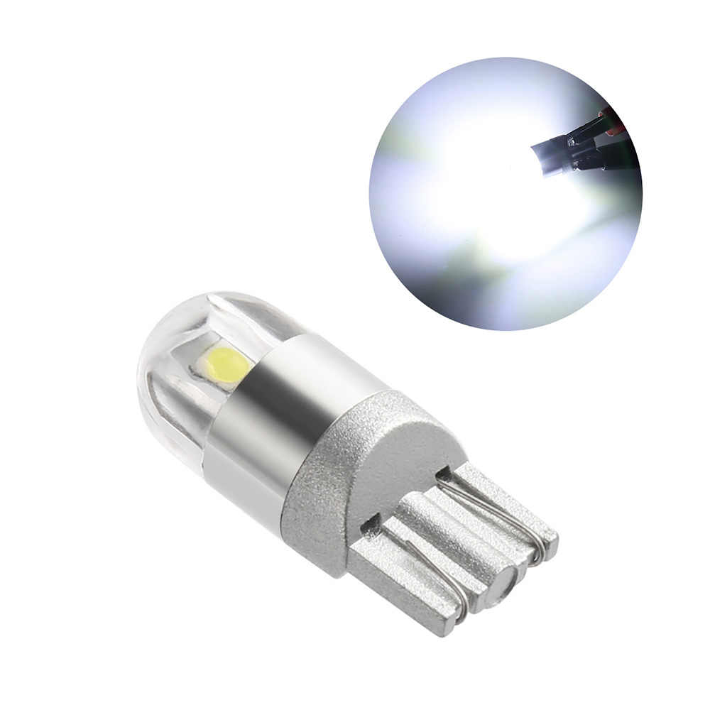 1 Piece T10 w5w led Bulb LED Car DRL 3030 SMD 194 168 COB Clearance Lights Reading Interior Lamp 12V 6000k White