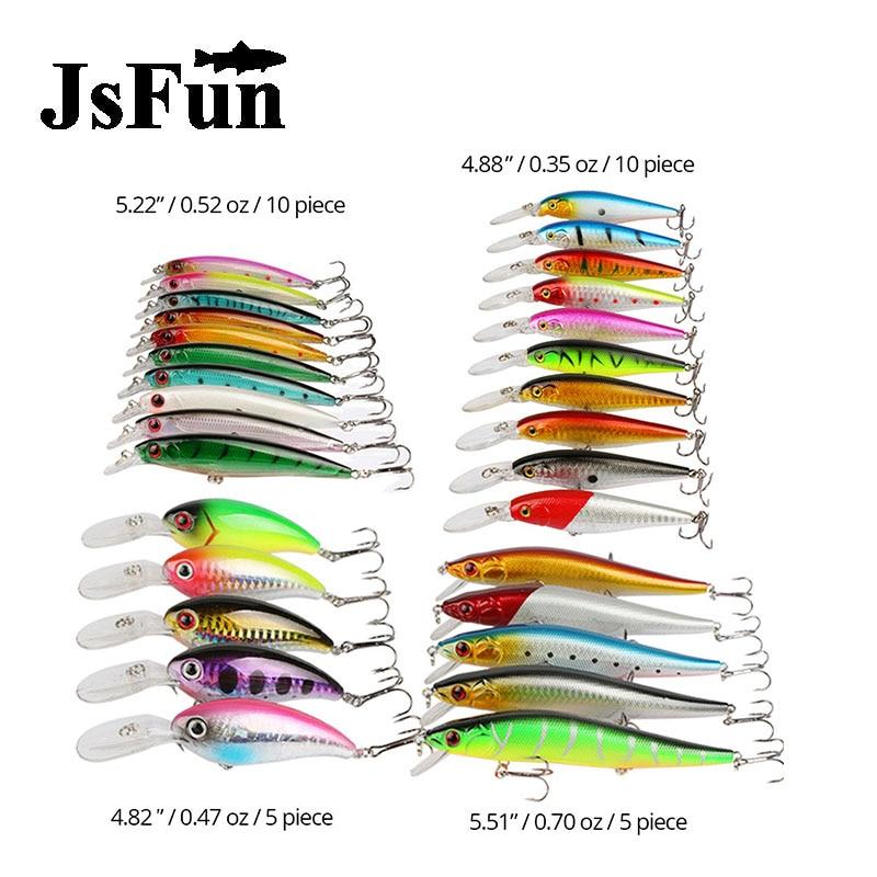 JSFUN 30PCS/SET MInnow Rock Fishing Lure  Bait With 3D Eyes Floating Bait With Treble Hooks Simulated Laerd Skin fu1005 pst5 rock set киев