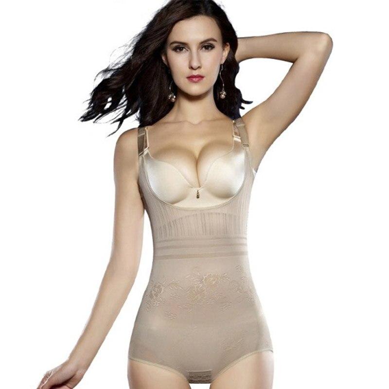 Ropa interior adelgazante bajo el busto Control de la panza para mujer, ropa interior moldeadora de cuerpo, Control de la cintura, Bodysuits firmes 2019, nueva moda