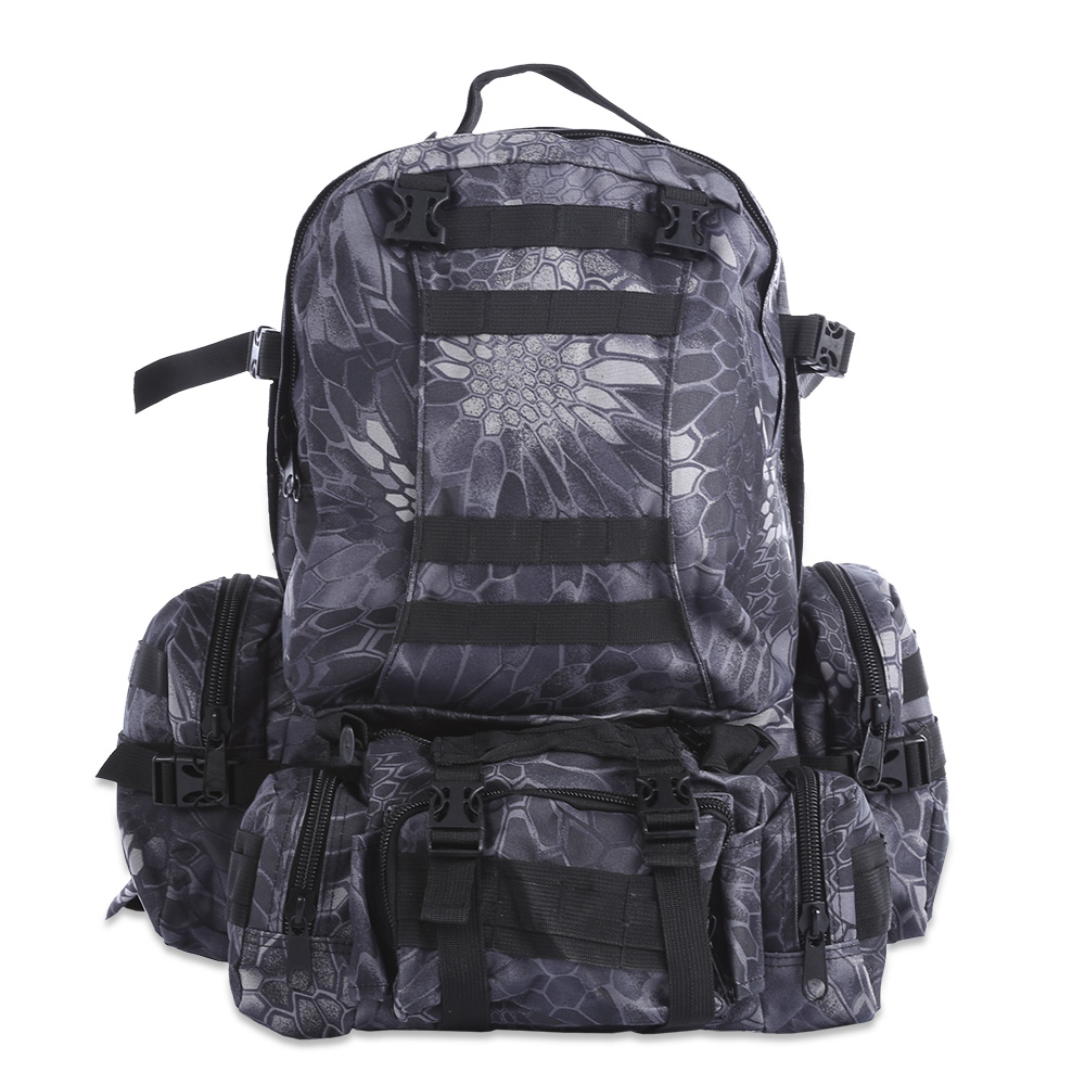 50L Water Resistant Military Tactical Molle Bag Camouflage Backpack Outdoor Climbing Hiking Camping Fishing Rucksack 8 Color free shipping men women unisex outdoor military tactical backpack camphiking bag rucksack 50l molle large big ergonomic gear