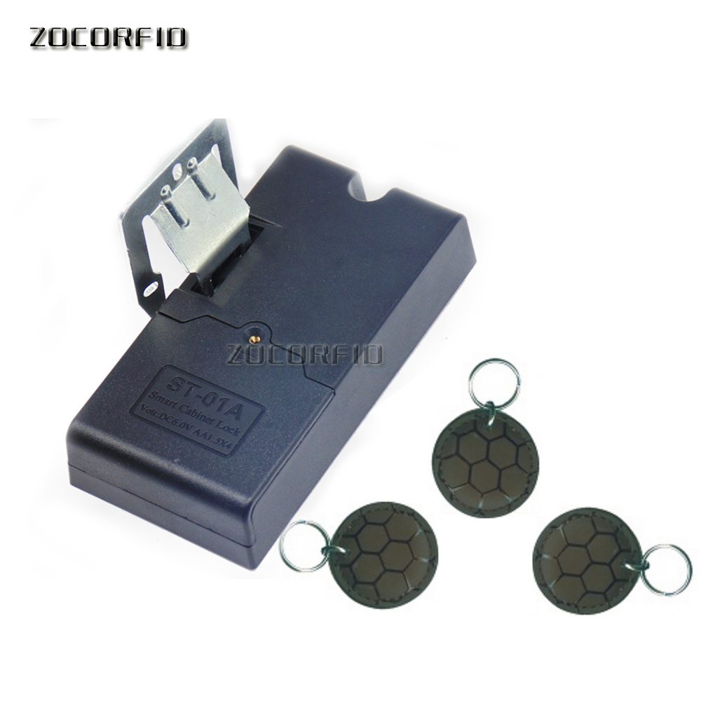 Avoid trepanning 125khz EM rfid Keyless Hidden Locker Cabinet Lock Private card Lock / RFID Electronic drawer locker цена и фото