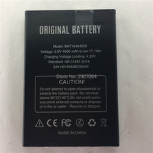 Mobile phone battery T5 BAT16464500 4500mAh Accessories High capacit Original for DOOGEE