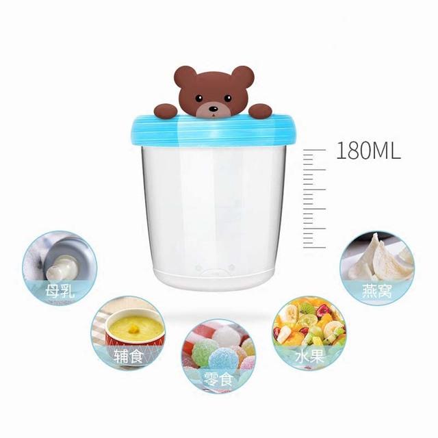 1 Pcs Portable Baby Milk Powder Box Kids Baby Food Storage Container Breast Milk/Fruit/Juice/Snack Storage Cup Set