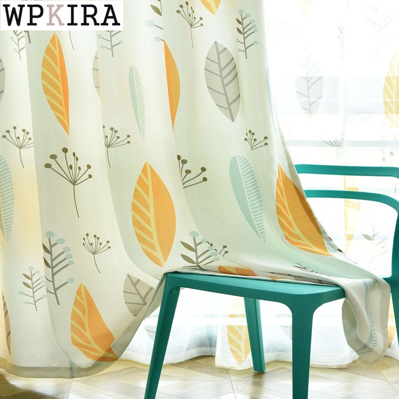 Window Treatments Strong-Willed Xinhuaease Short Curtain Children Room Kitchen Cortinas Blackout Window Curtains For Living Room Cloth Can Customization Rideaux