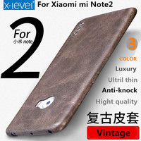 Cool Fashion Leather Phone Case For Xiaomi Mi Note 2 Case Luxury Ultril Thin Protective Back