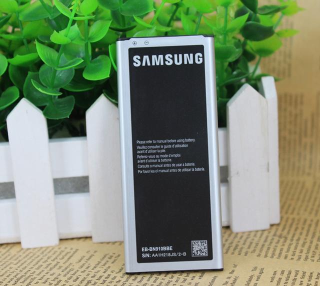 100% original de la batería de reemplazo para samsung galaxy note4 n910a n910u n910f n910h nota 4 3220 mah