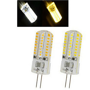 Купить с кэшбэком BEEFORO 10 XG4 3W 64LED X SMD 3014 250-350 LM 2800-3500/6000-6500 K Warm White/Cool White Spot Lights AC 220-240 V 12V
