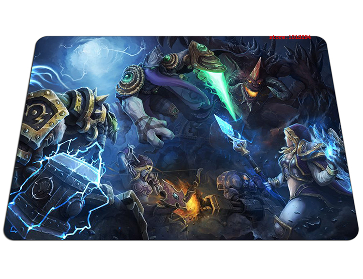 Heroes of the Storm mouse pad 2016 new large pad to mouse notbook computer mousepad Beautiful gaming padmouse gamer play mats