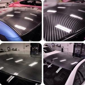 Image 5 - ملصقات تزيين السيارة من ألياف الكربون خماسية الأبعاد لسيارة Hyundai Creta Tucson BMW X5 E53 X6 VW Golf 6 7 GTI Kia Rio Sportage 2017 ملحقات