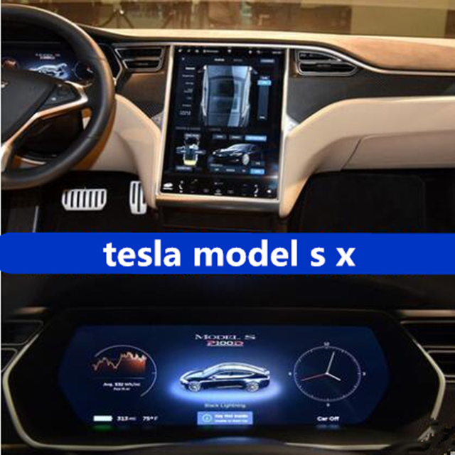 For Tesla Model S X Central control navigation touch screen GPS screen Protector 17 inch protective films