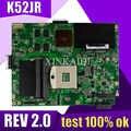 XinKaidi K52JB scheda madre Del Computer Portatile per ASUS K52JB K52JE K52JR K52JC K52JT K52J A52J X52J Prova mainboard originale K52JR REV2.0