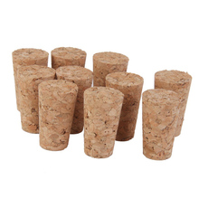 10pcs Tapered Corks Stoppers DIY Craft Art Model Building Home Decoration Accessories Craft Supplies Art