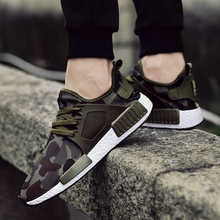 Outdoor Military Camouflage Men Casual Shoes 2018 Summer Krasovki Army Green Trainers