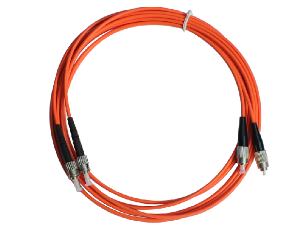 1 Pair FC - ST fiber optic patch cord jumper cable, MM, Multi-Mode duplex 62.5/125,3M/5M/10M/15M Home Electrical Wires professional fiber optic connectors cable 3m lc to lc fiber patch cord electricos jumper cable duplex 3 0mm mm 62 5 125 lc lc hr