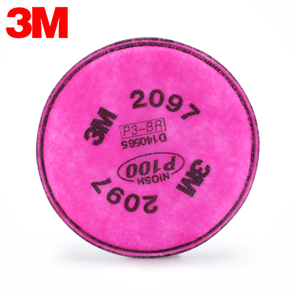 3M 2097 Gas Mask Filter High Quality Respirator Mask Filter Against  Painting Spraying Glass Fiber PM2.5 Industrial Safety Filter-in Masks from  Beauty ...