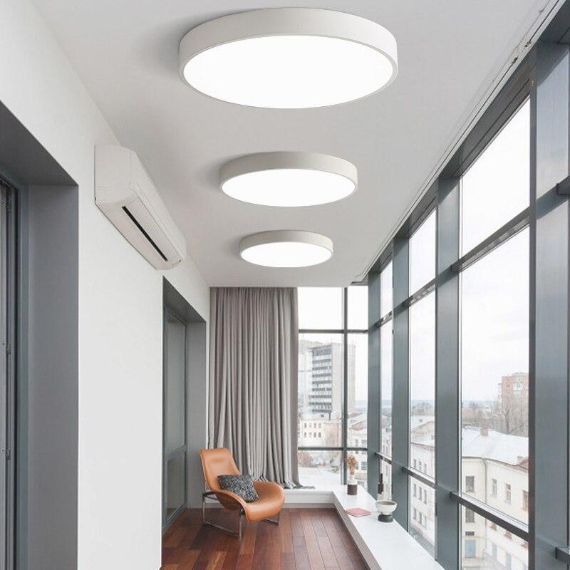 Moderne Led-deckenleuchte Wohnzimmer Schlafzimmer Licht Korridor Balkon Led-deckenleuchte Küche Decke Lichter Oberfläche montieren