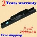 Jigu 9 celular a31-k53 a32-k53 a41-k53 a42-k53 batería del ordenador portátil para asus x84 x54 X53 X44 X43 P43 P53 K53 K43 A83 A54 A53 A43 Series