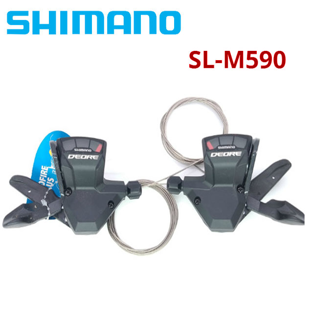 new Shimano DEORE SL M590 9S 27S 9 Speed bike Shifter Lever Trigger MTB Bicycle Parts