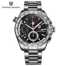 Reloj hombre Complet En Acier Inoxydable Sport Montres Hommes Quartz Montre Horloges Relogio Masculino 2017 Marque De Luxe PAGANI CX-2492C